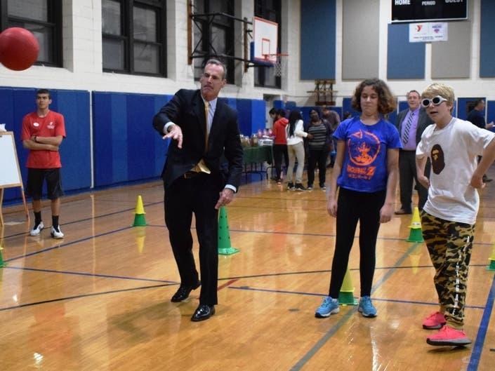 Westfield Area Y & UnitedHealthcare kickoff 7th Grade Initiative