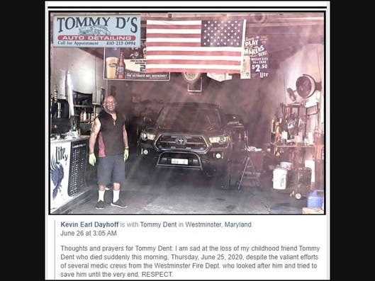 2020 Westminster Christmas Market Westminster, Md Popular and well respected community leader Tommy Dent has died
