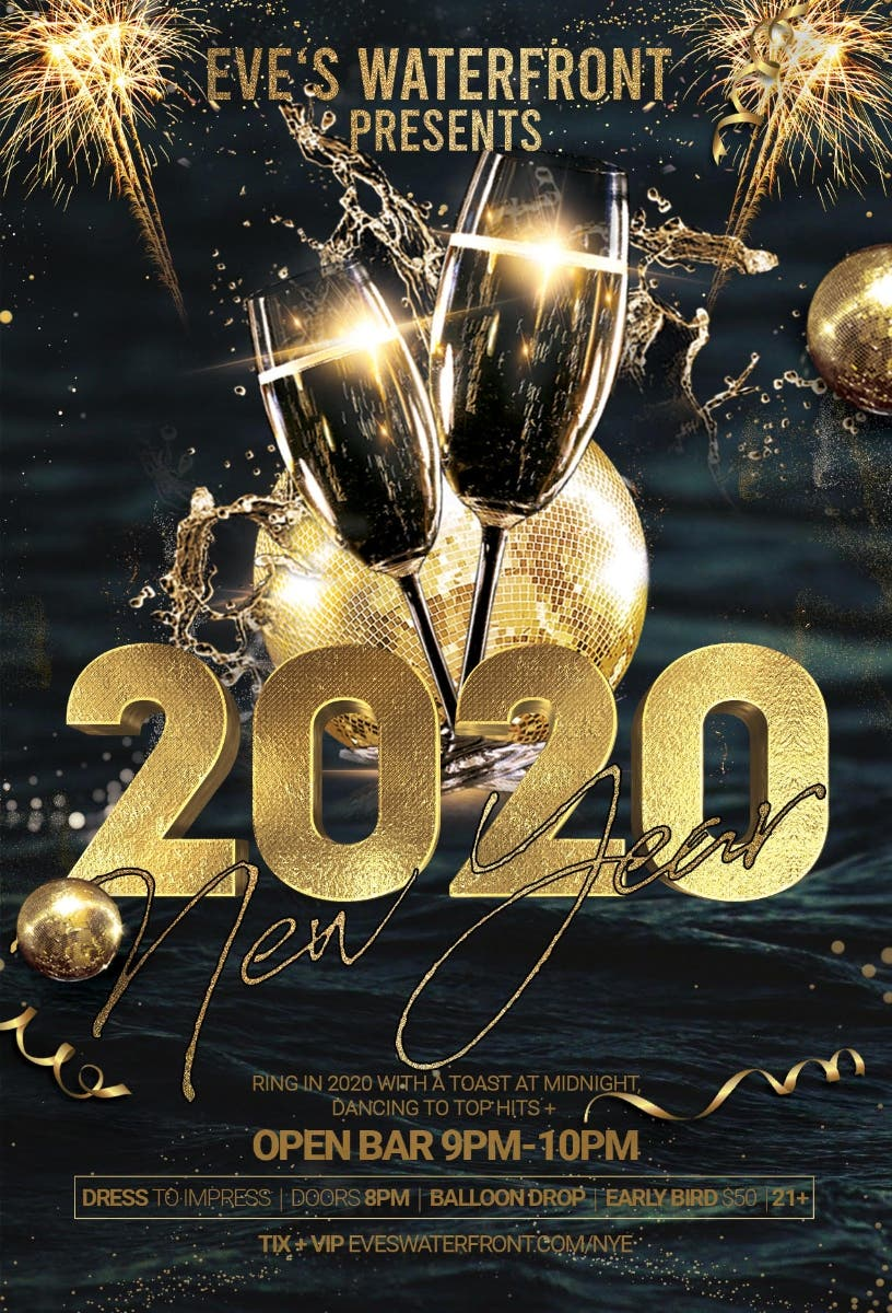 dec 31 eve s waterfront 2020 nye party with open bar 9pm 10pm balloon d berkeley ca patch eve s waterfront 2020 nye party with