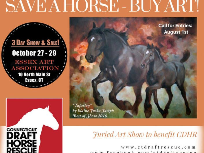 Save a Horse - Buy Art! Calling all Artists! | East Hampton