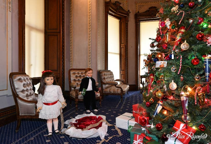 Christmas Playtime at the Mansion