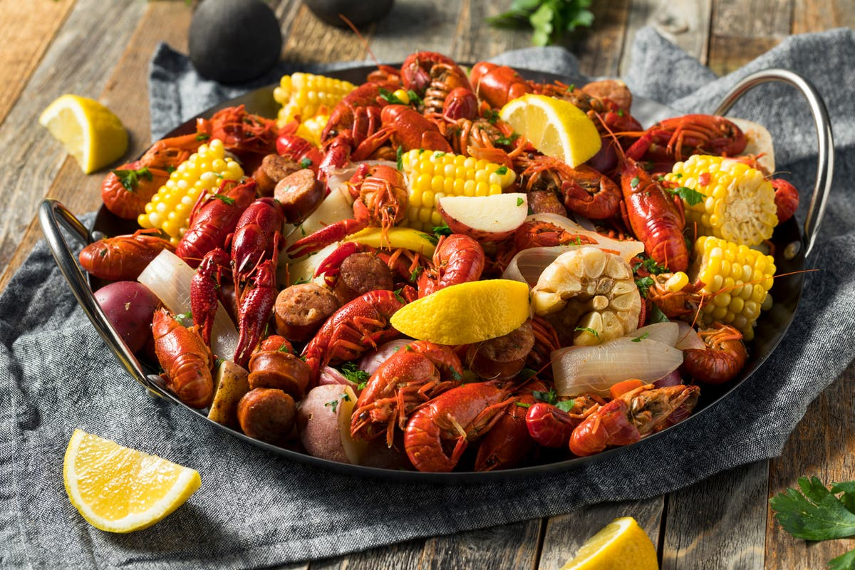 Casual Cajun Seafood Restaurant At The Collection At