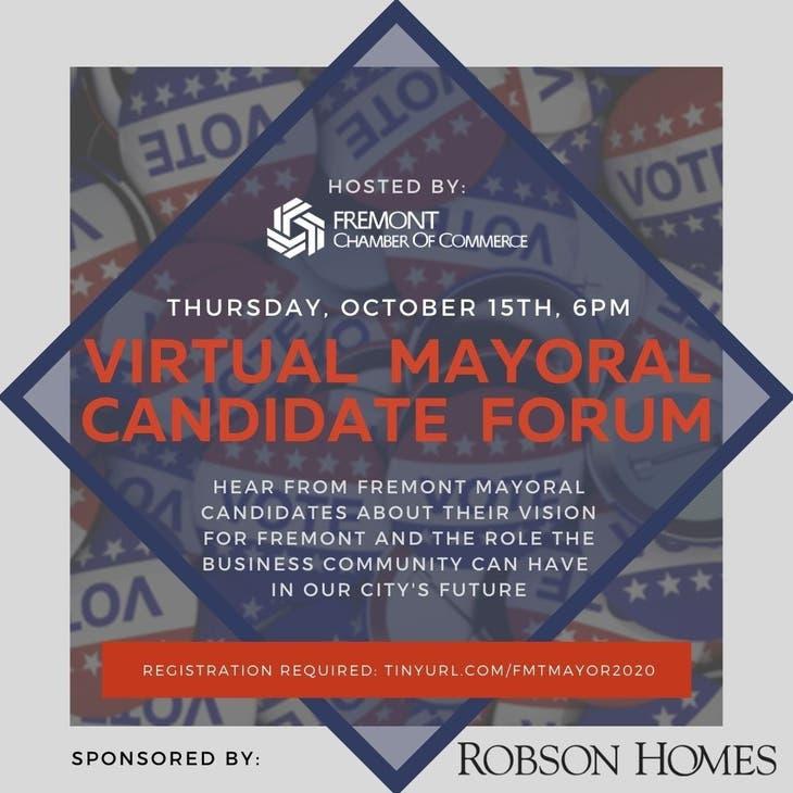 Virtual Fremont Mayoral Candidate Forum