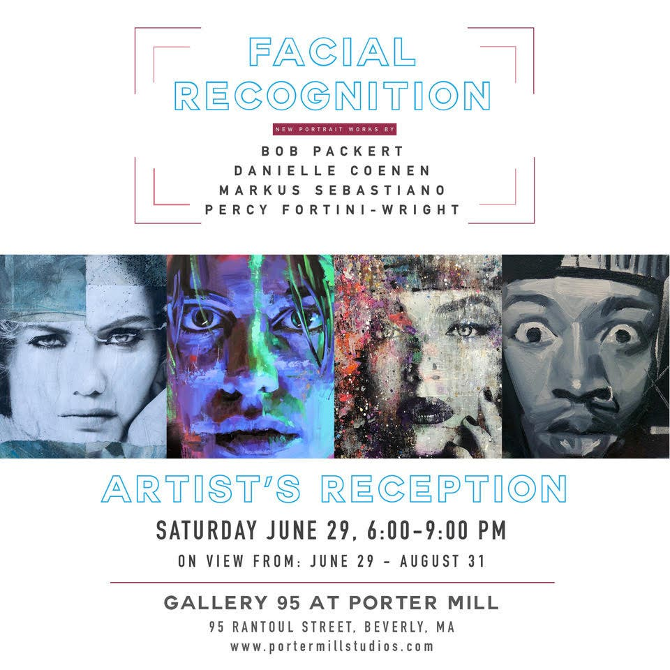 Jun 29   Facial Recognition Artist's Reception   Beverly, MA