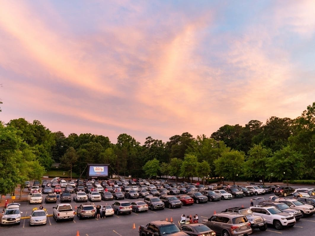 The Springs Is Serving Up Drive-In Movies with A Cause | Sandy Springs, GA  Patch