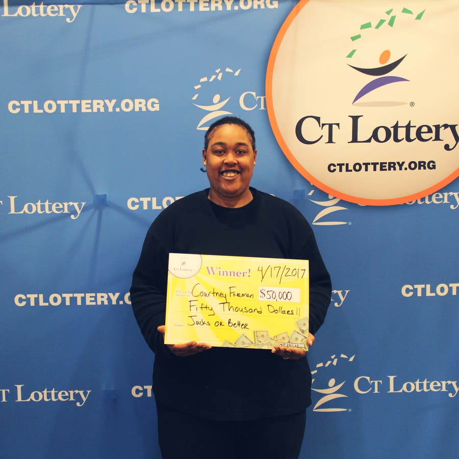 Good Feeling' Leads To Big CT Lottery Scratch Off Win