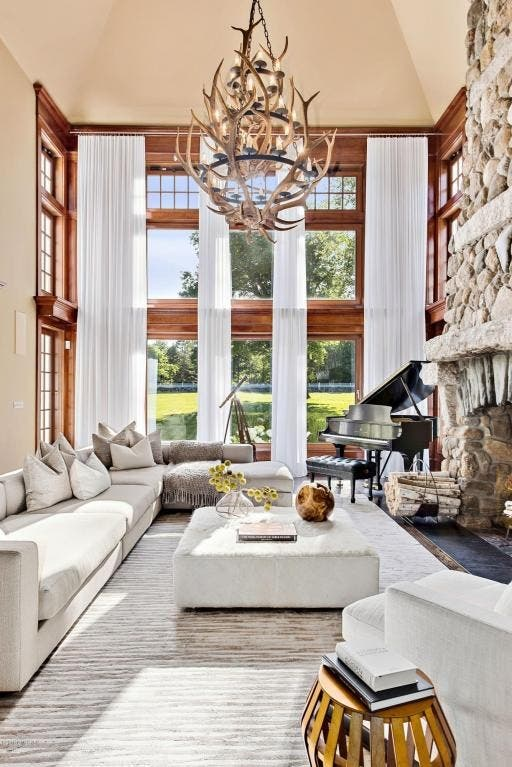Wow! House: Designer Tommy Hilfiger's Former Greenwich Home ... on ralph lauren furniture, michael kors furniture, pierre cardin furniture, dior furniture,