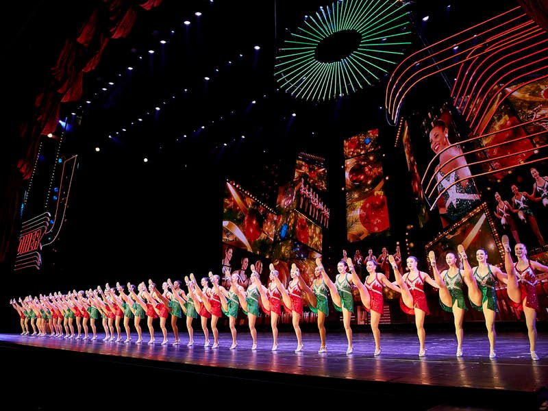 radio city rockettes visit darien library thursday - Rockettes Christmas Show
