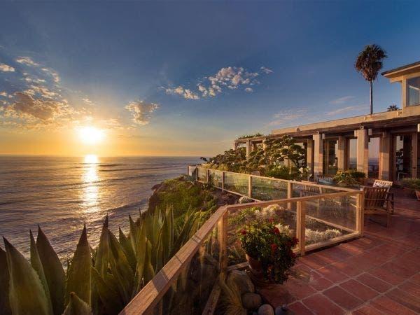 President Nixons Estate Sunset Idea House Beach Front