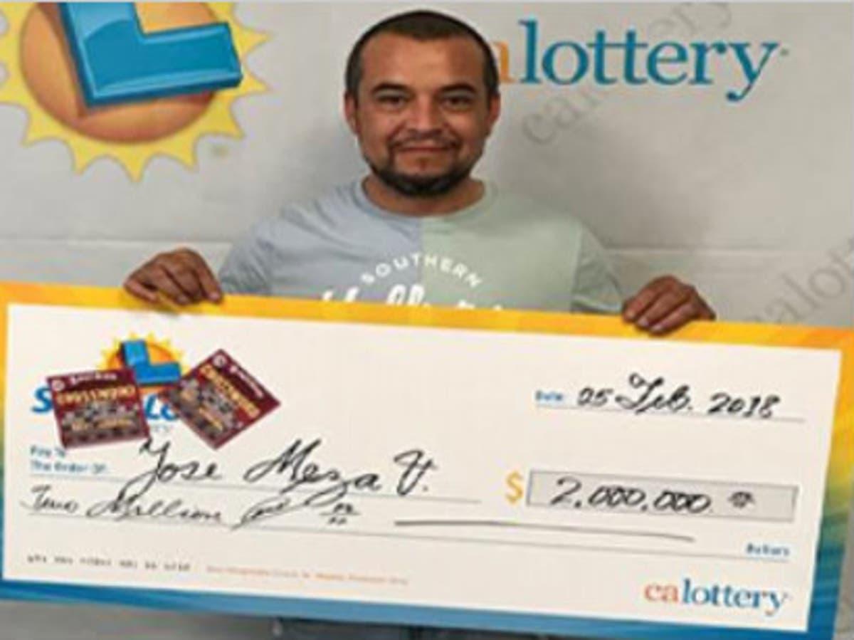 East Bay Man Wins $2M On Scratchers Ticket: CA Lottery