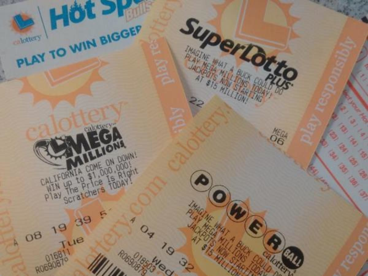4 CA Lotto Tickets Worth $570K Each | Lamorinda, CA Patch