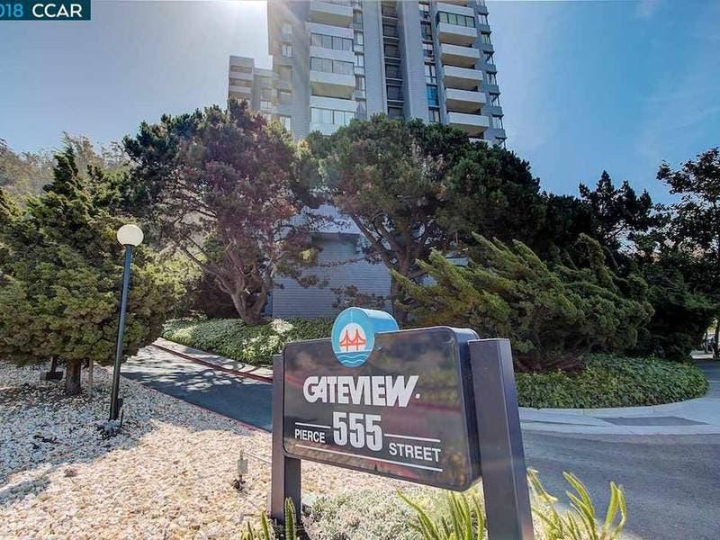 High Rise Condo With Bay, Bridge Views: $388,500