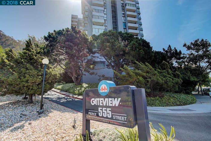 High Rise Condo With Bay, Bridge Views: $388,500
