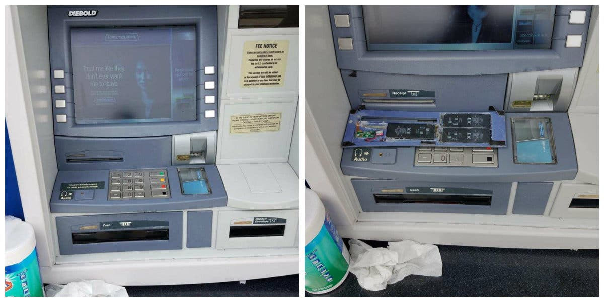 Card Skimmer Found At East Bay Bank ATM | Alameda, CA Patch