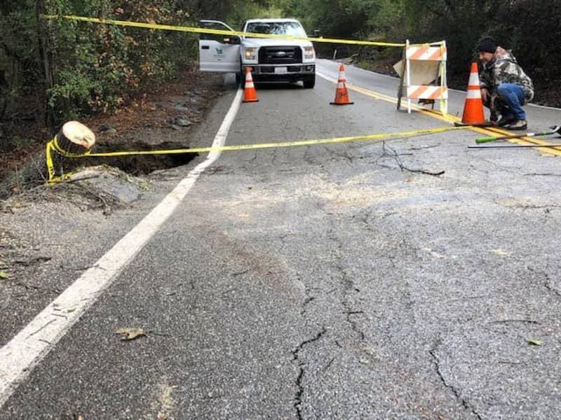 Norris Canyon Road Reopens
