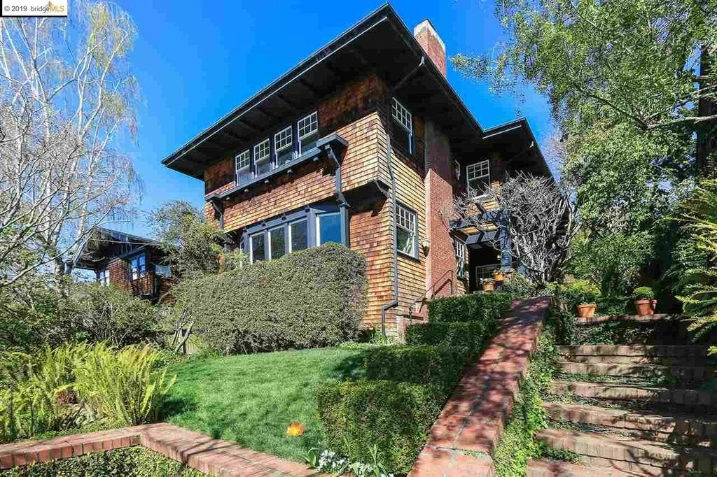 1910 Piedmont Home Features Dramatic Foyer
