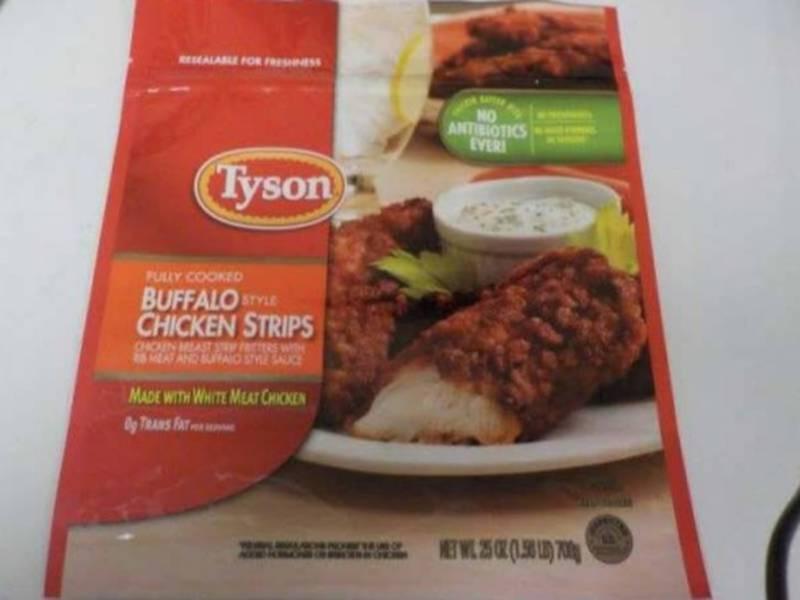 Tyson Chicken Recall In CA