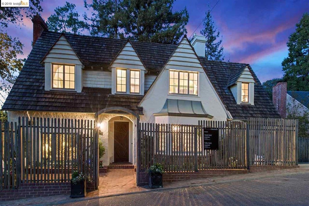 1930 Piedmont Home Has Gorgeous San Francisco, Sunset Views