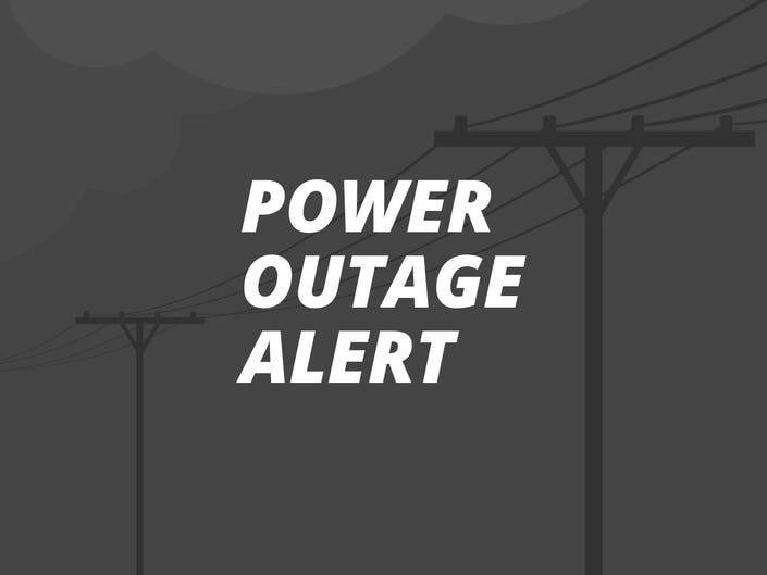 Large Power Outage In Nearby Oakland