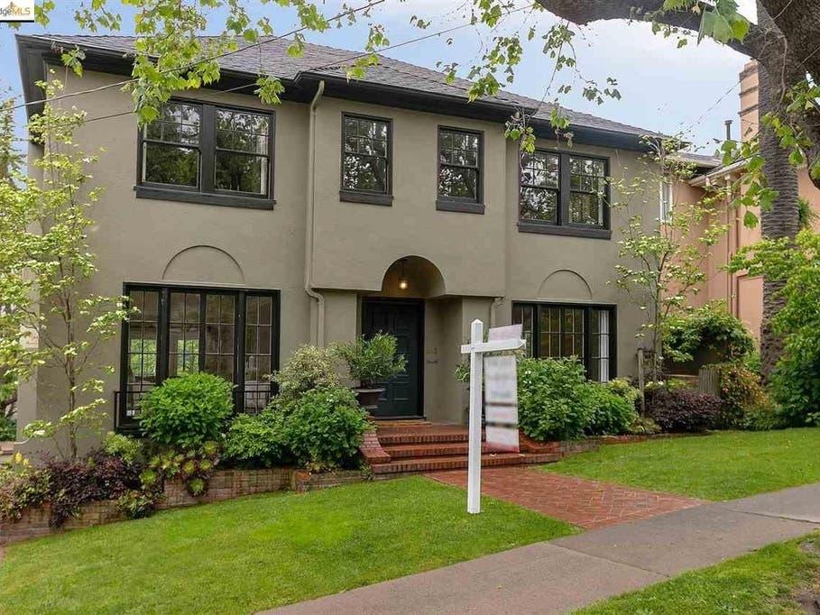 Elegant 1925 Piedmont Home Offers Calm Around Every Corner