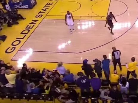 Warriors Co-Owner Banned For One Year, Fined Over Player Shove