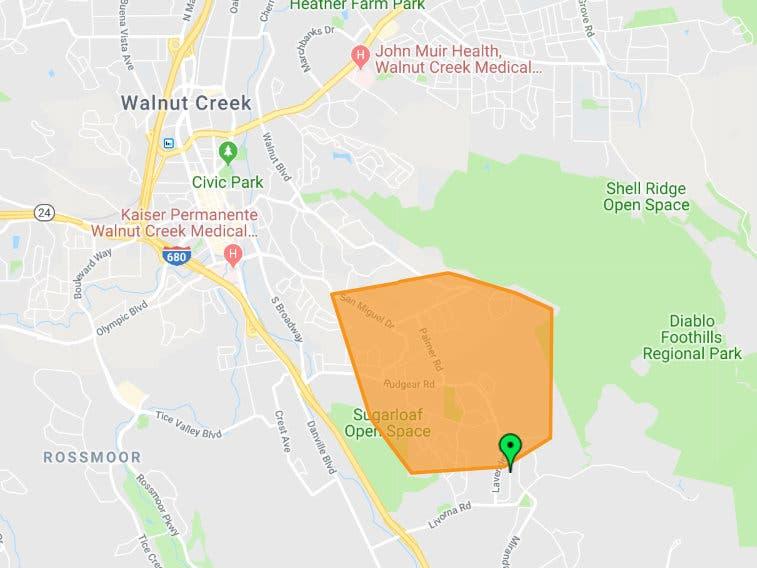 Major Power Outage In Walnut Creek Area | Walnut Creek, CA Patch