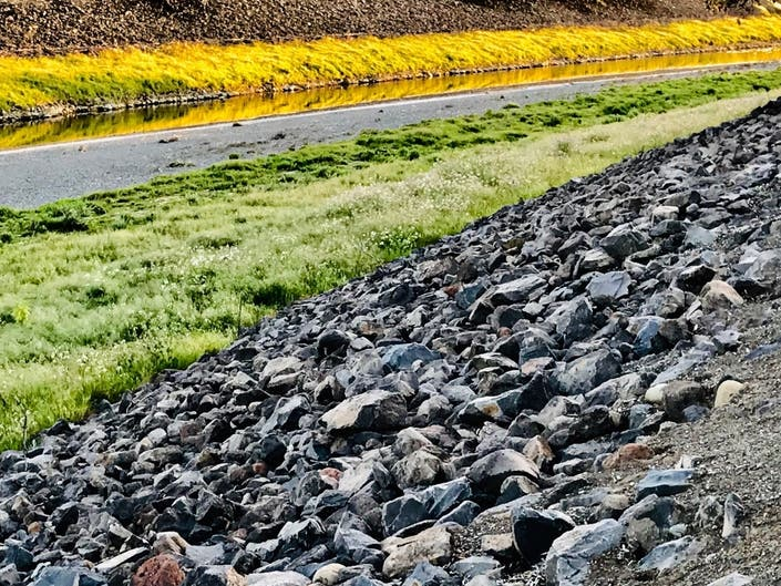 Shades And Textures Of Alameda Creek: Photo Of The Day