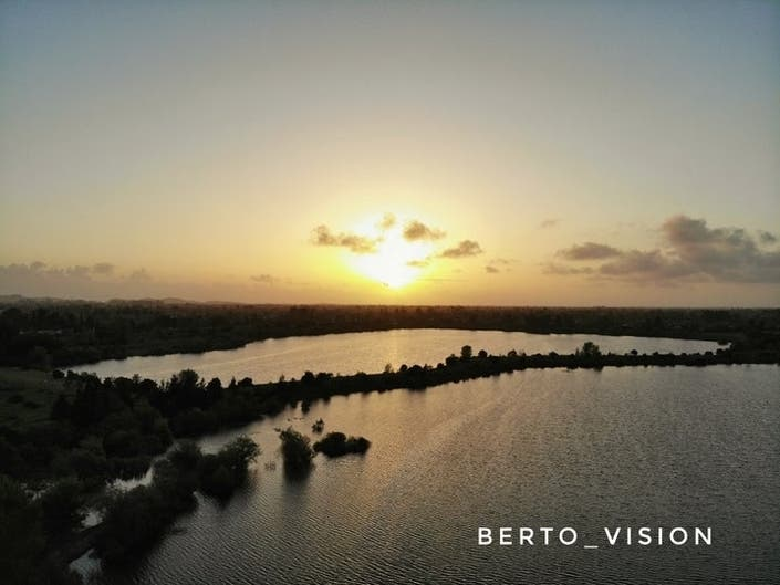 Sunset Over Quarry Lakes: Photo Of The Day