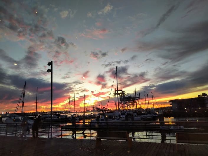 Sunset Over The Bay: Photo Of The Day