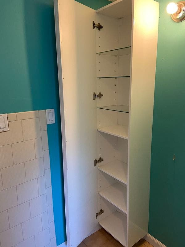 Ikea Tall Cabinet Mirror Door 150, Ikea Mirror Cabinet Tall