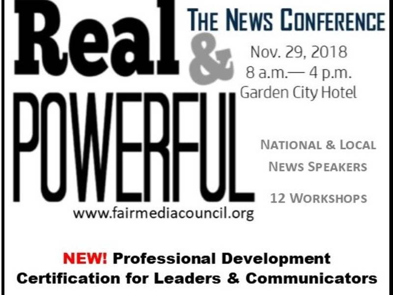 Meet the Best in News Nov. 29 at FMC\'s Real & Powerful Conference ...