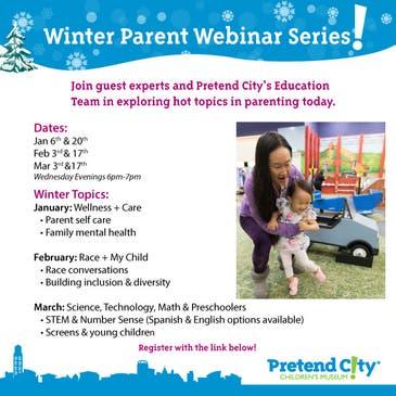 Free Winter Parent Webinar Series