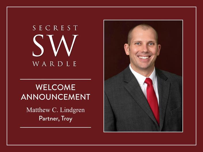 Secrest Wardle Welcomes Matthew C. Lindgren