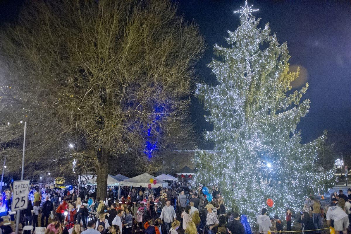 Christmas Tree Lighting On Saturday in