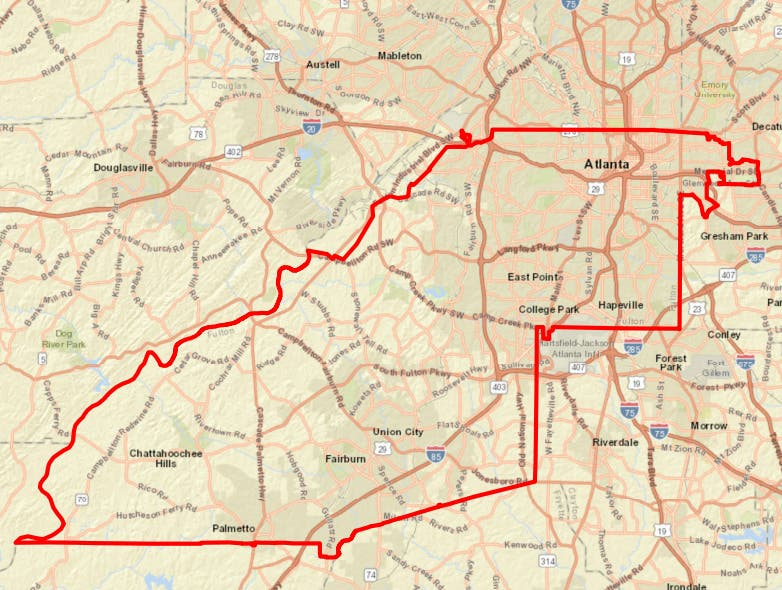 Boil Water Advisory Remains In Effect For Portions Of Atlanta