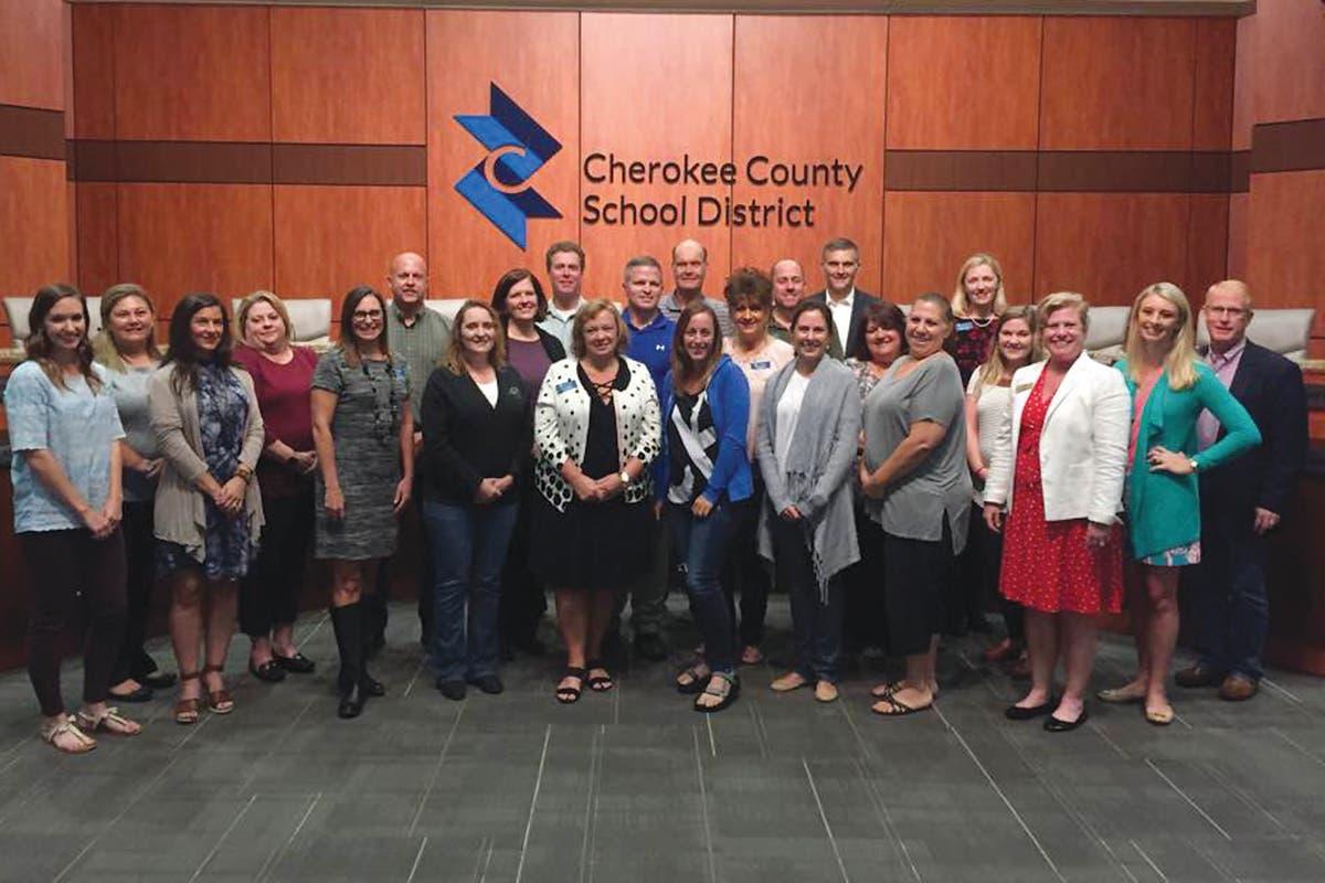 cherokee county school district ga