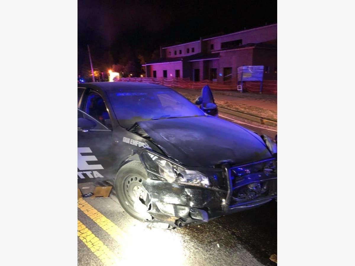 Cop Injured In Crash Following High-Speed Chase | Alpharetta