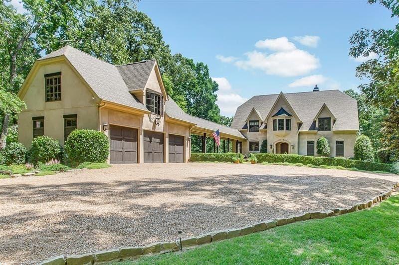 Wow House European Villa Nestled In Lush Landscaping Cartersville Ga Patch