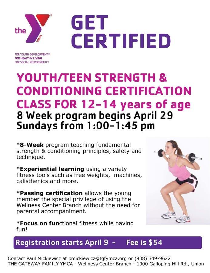Youth Strength Training Program | Woodbridge, NJ Patch