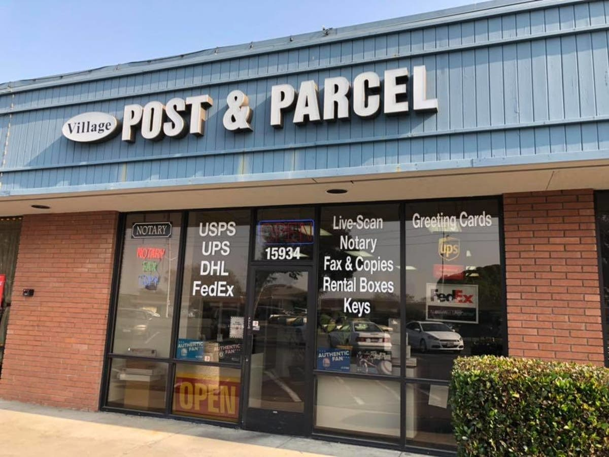 New Tech- Old Fashioned Values- Village Post and Parcel of SLZ