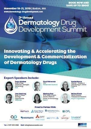 Nov 19 | 3rd Annual Dermatology Drug Development Summit US