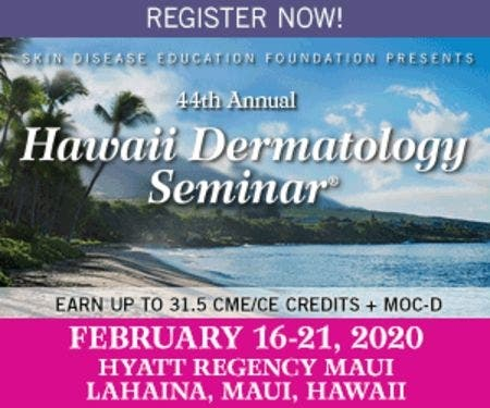 Feb 16   Skin Disease Education Foundation 44th Annual