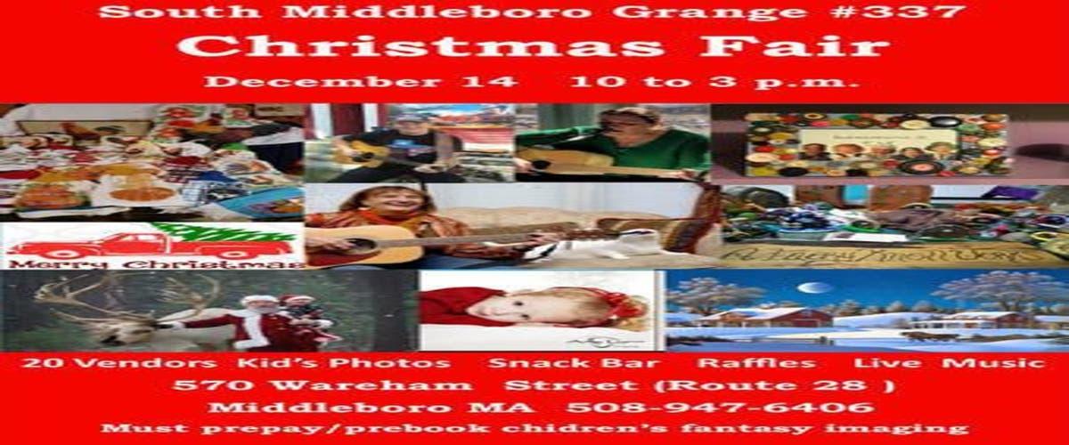 Middleboro Christmas Fair 2020 Dec 14 | South Middleboro Grange #337 Christmas Fair | Plymouth