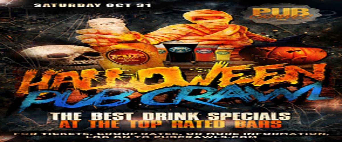 Halloween Celebrations On October 31st In Tn 2020 Oct 31 | Graveyard Row Halloween Pub Crawl Nashville   October 31