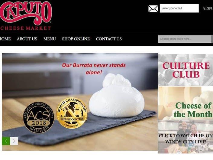 Award-Winning Caputo Cheese Launches Online Cheese Shop