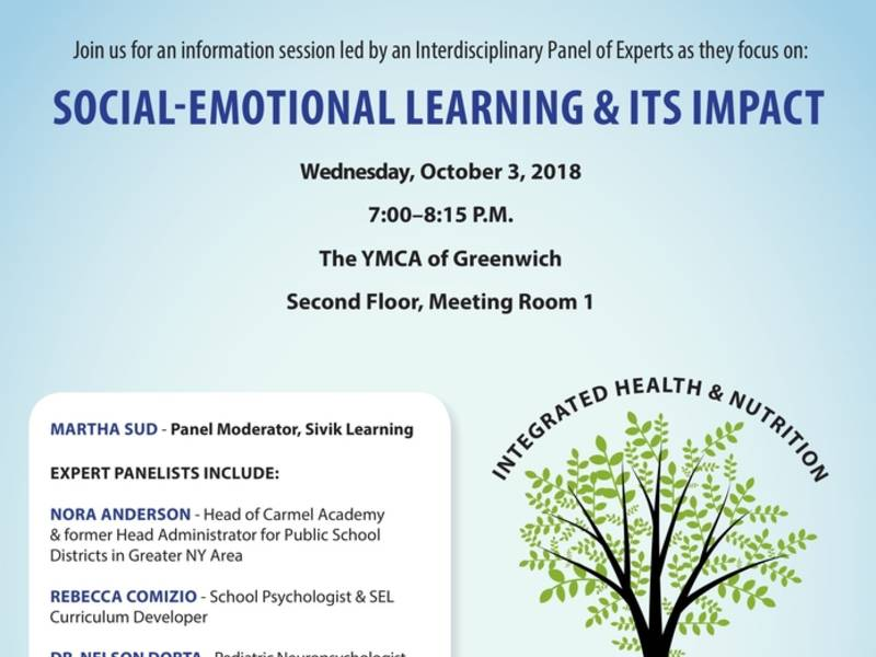 Impact Of Social Emotional Learning On >> Social Emotional Learning Panel At Greenwich Ymca