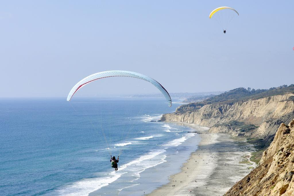 Paraglider Crashes Onto Black's Beach Cliff | La Jolla, CA Patch