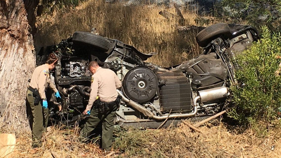 Pursuit on U S -101 in Marin Ends in Crash Near SR-37 [UPDATED