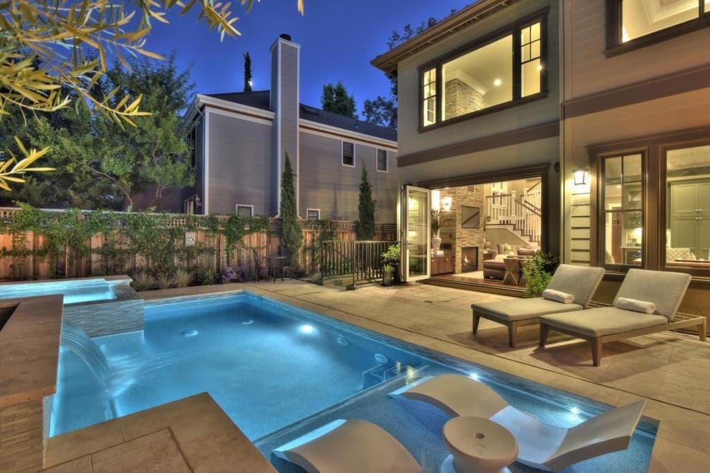 Los Gatos Executive Home With Wine Cellar Bbq Pool 3