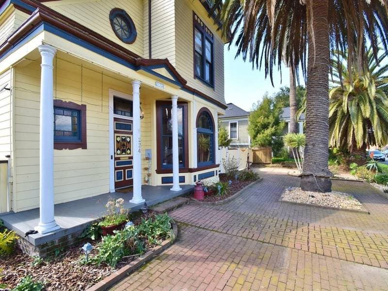 Classic Curb Appeal: Historic Benicia Victorian Home Hits Market